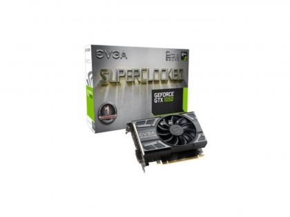 EVGA GeForce GTX 1050 Gaming, 2GB GDDR5 (02g-p4-6150-KR)